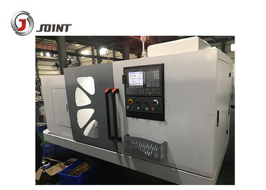 11kw Spindle Motor Flat Bed CNC Lathe Machine Steel Headstock Gears Included